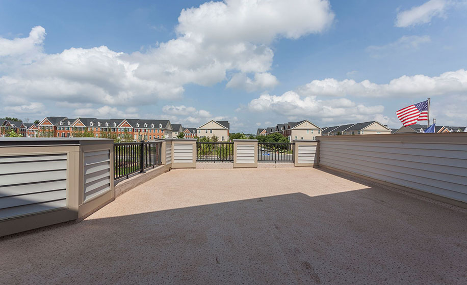 Birchwood at Brambleton Bradley Homesite 6010 Rooftop Terrace