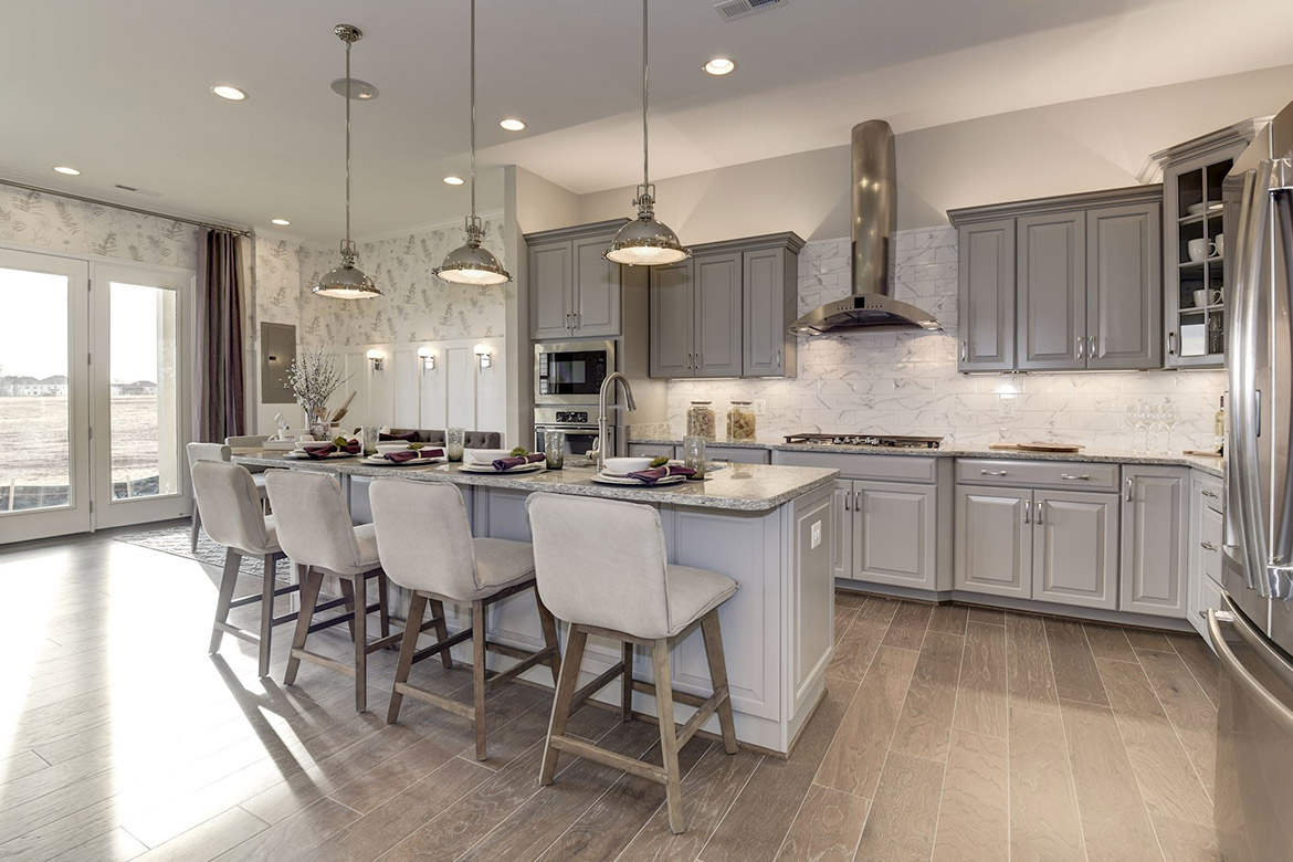 Birchwood at Brambleton Grand Villas Hudson Model Kitchen