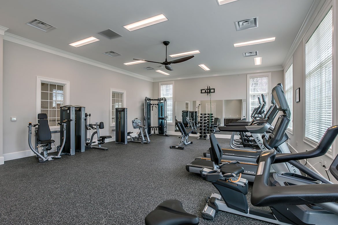 Crest of Alexandria Clubhouse Workout Room