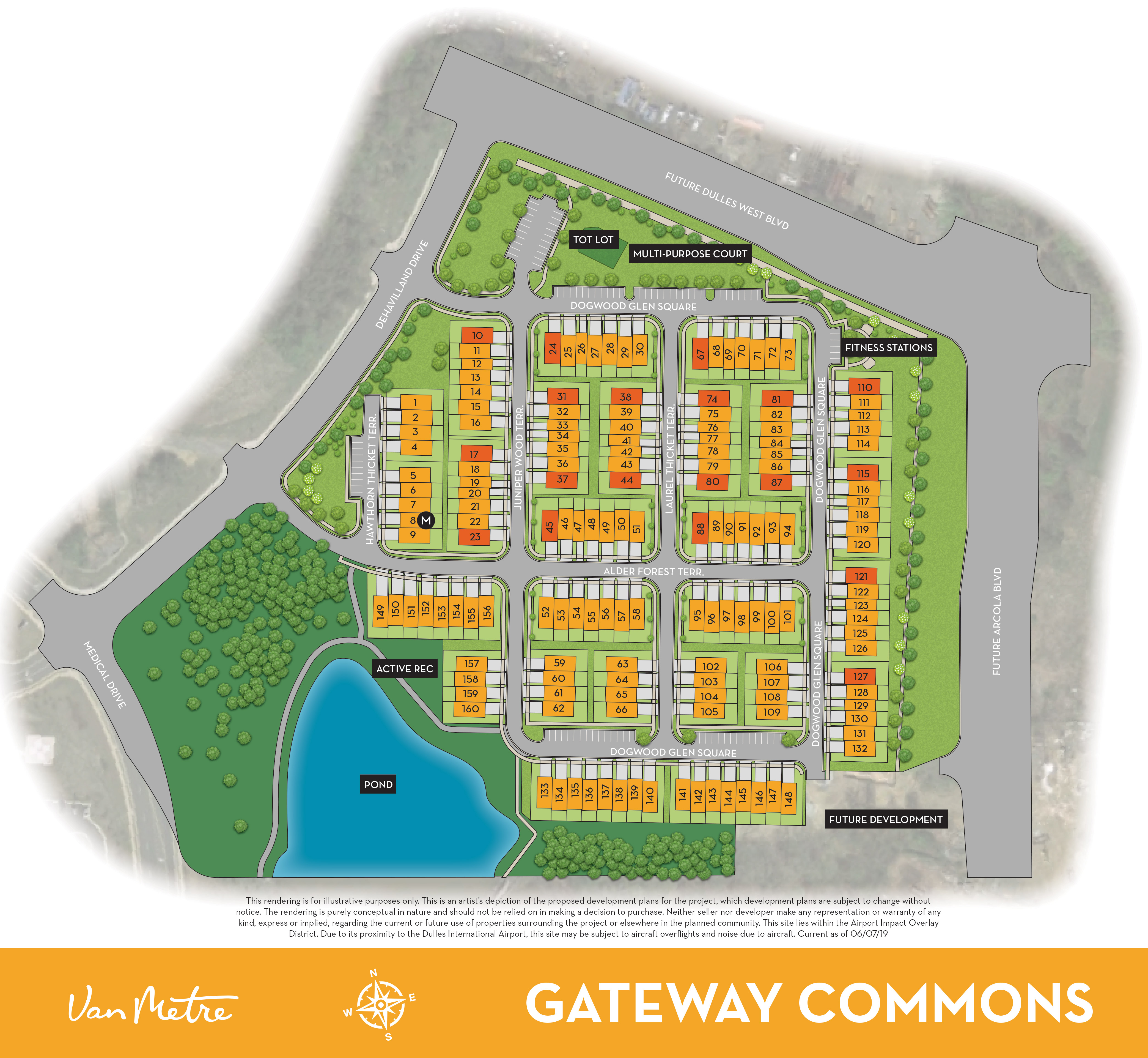 Gateway Commons Site Plan