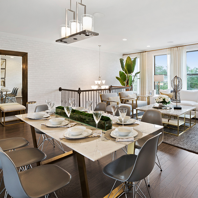 Gateway Commons Kent Model Dining Room