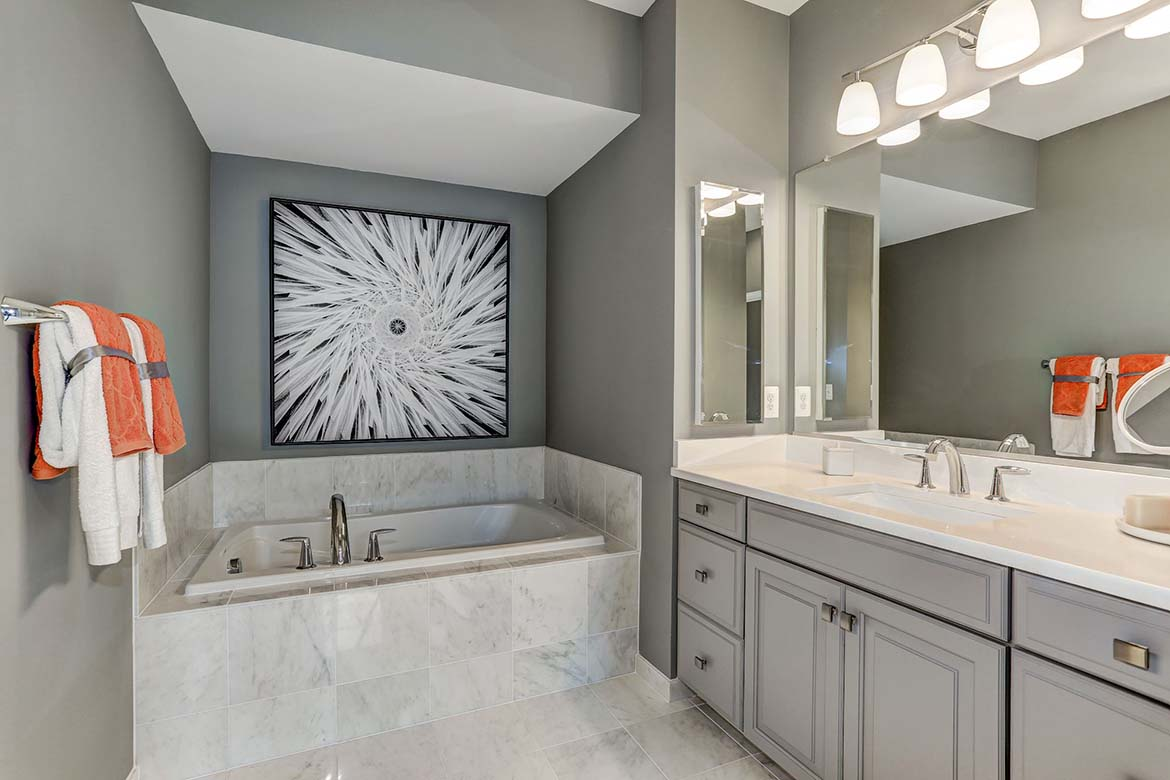 Liberty Stanton Model Master Bathroom
