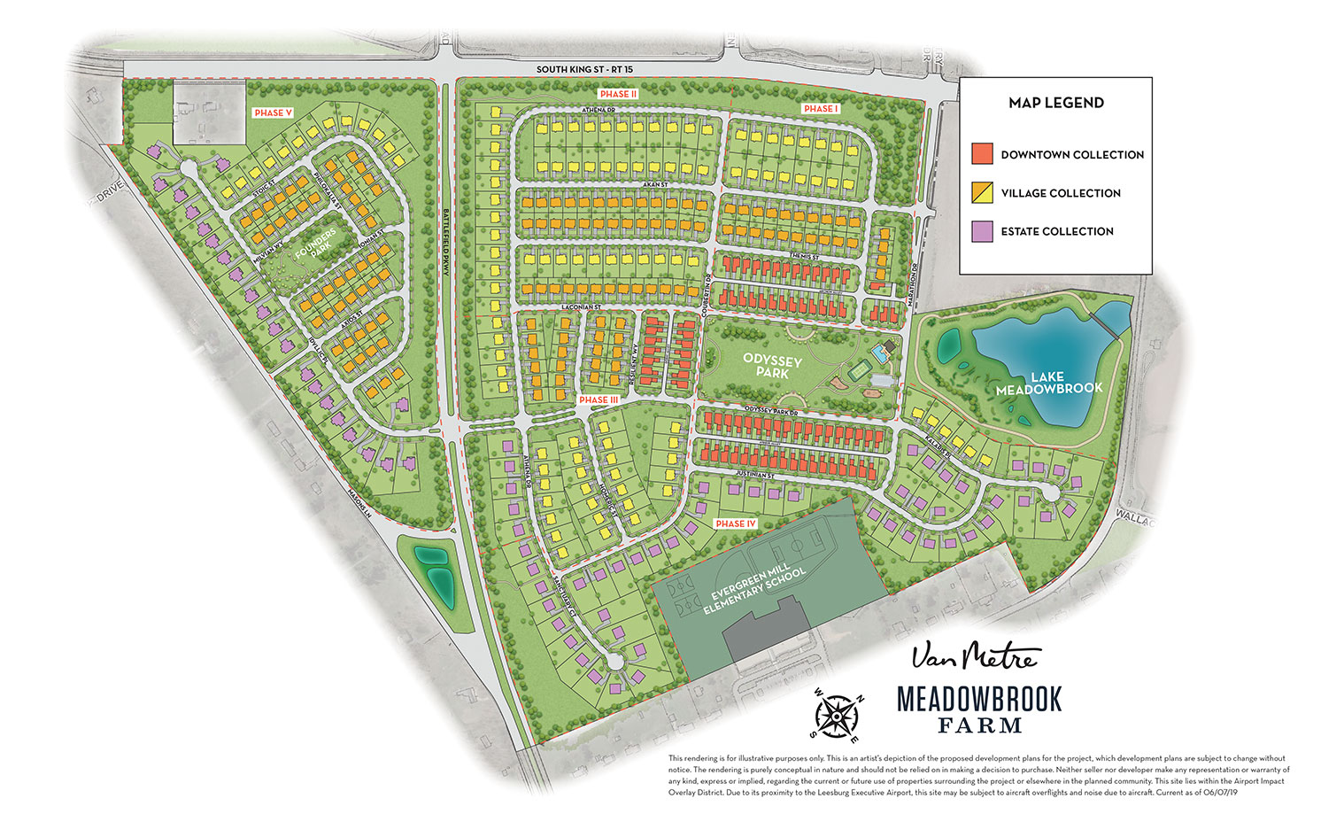 Meadowbrook Farm Site Plan