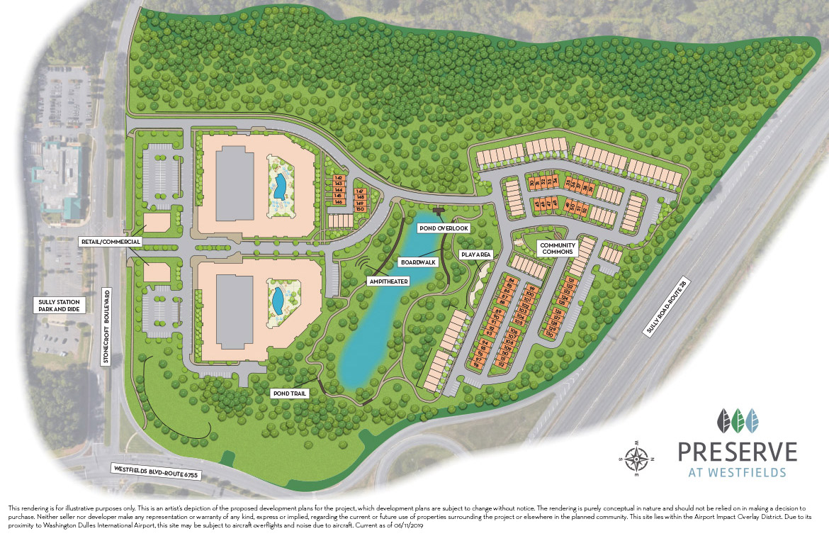 The Preserve at Westfields Site Plan