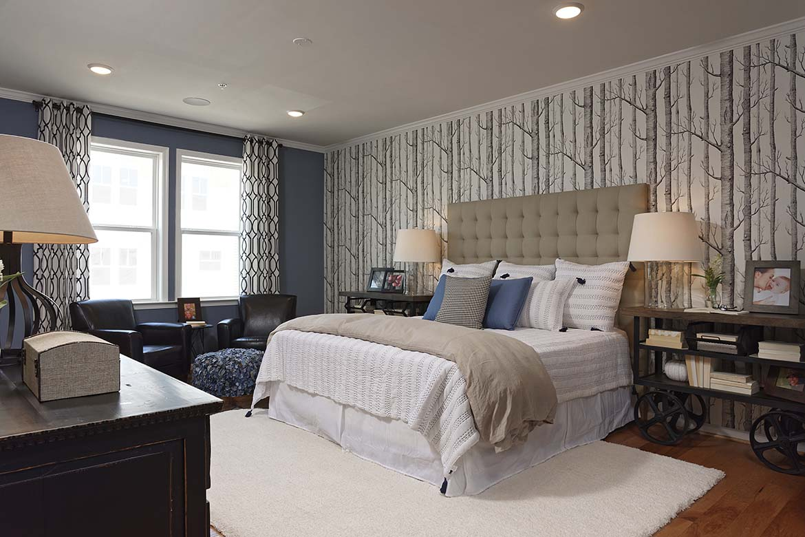 Stone Mill Corner Master Bedroom