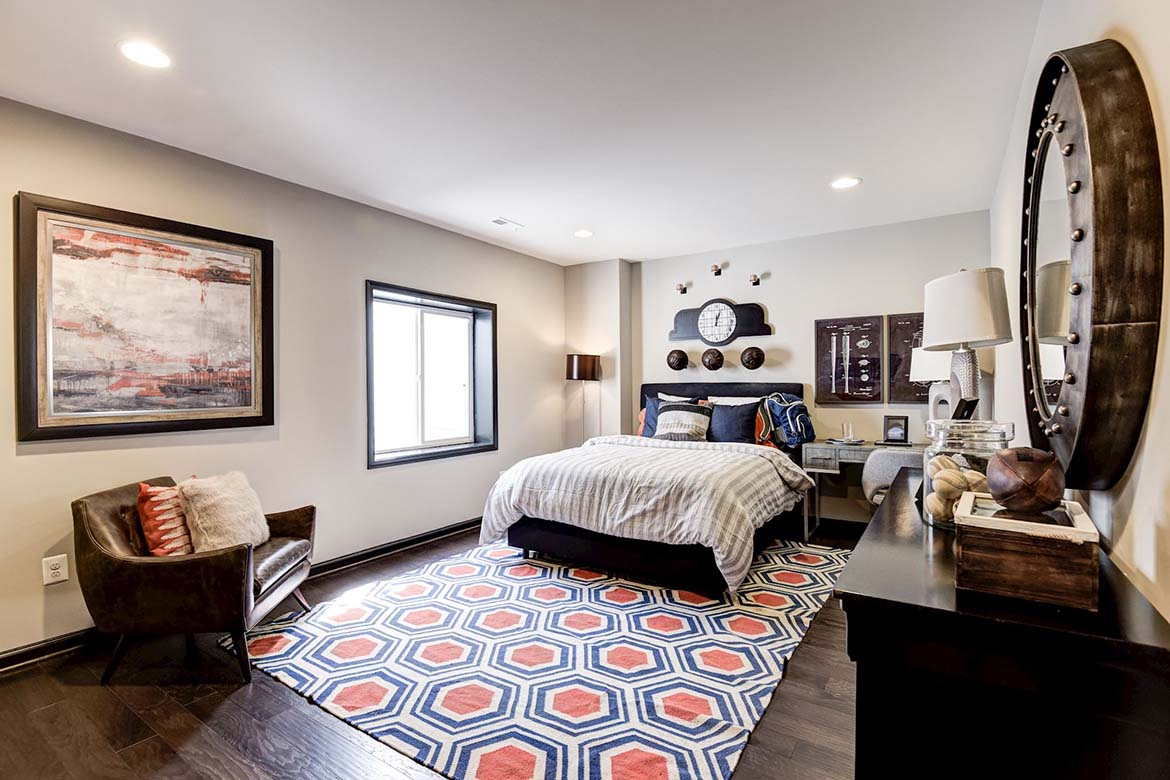 Tanglewood Basement Bedroom