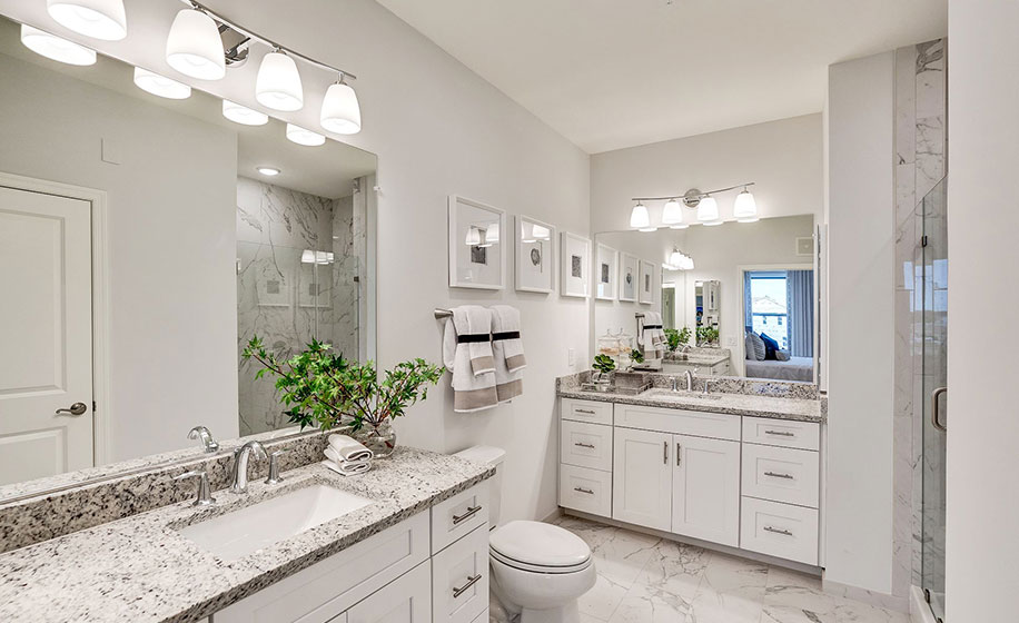 Birchwood at Brambleton Barton Master Bathroom