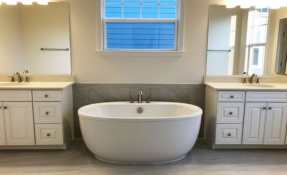 Meadowbrook Farm Belmont Master Bathroom
