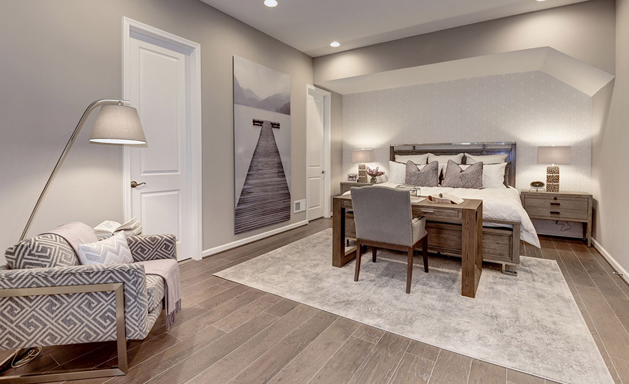 Birchwood at Brambleton Hudson Main Level Master Bedroom