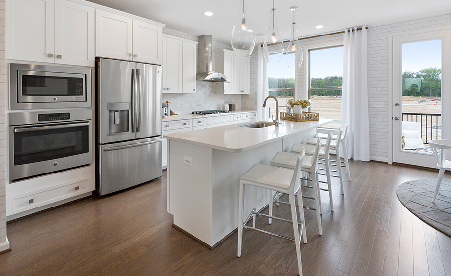 Gateway Commons Kent Model Kitchen
