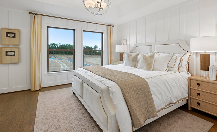 Gateway Commons Kent Model Master Bedroom