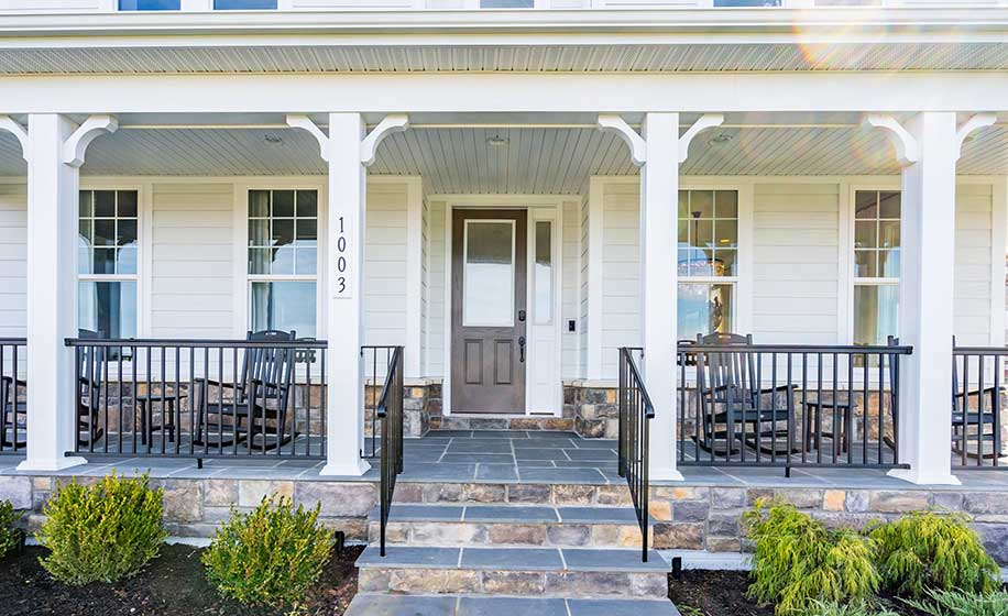 Meadowbrook Farm - Timberneck II - Porch