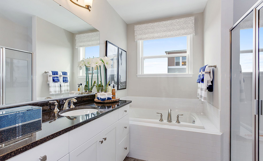 Stone Mill Woodson Master Bathroom
